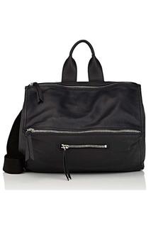 Givenchy Men's Pandora Leather Messenger Bag - Black