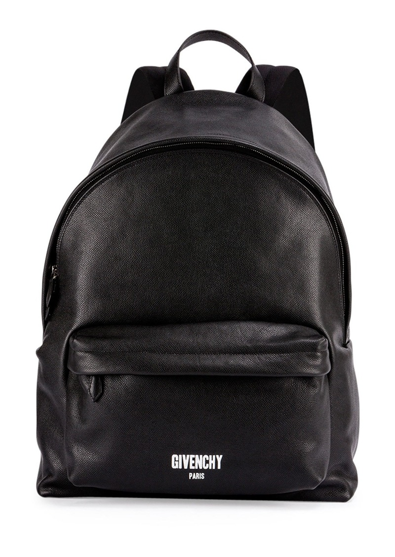 250b156d13b3 Givenchy Givenchy Men s Printed Logo Leather Backpack