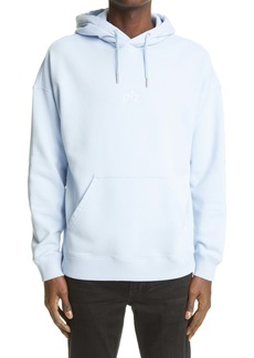 Givenchy Men's Refracted Logo Embroidered Hoodie