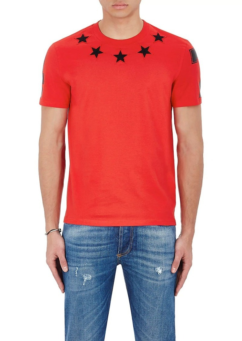 Givenchy Givenchy Men s Star   Numbers Jersey T-Shirt  ec5251437637