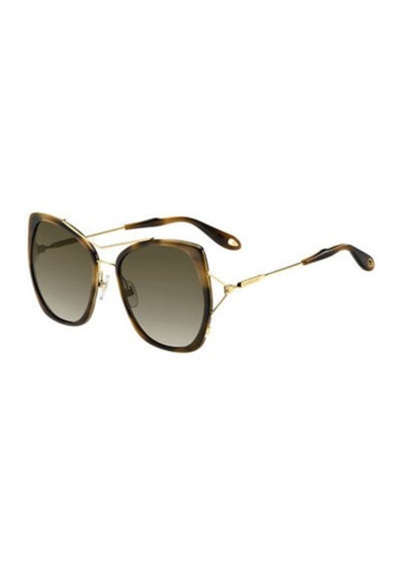 220d9f1c402 Givenchy Givenchy Metal Butterfly Sunglasses