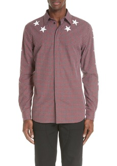 Givenchy Metallic Star Sport Shirt