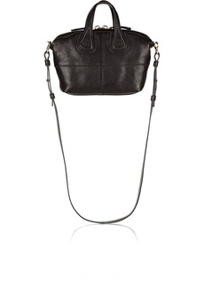 Givenchy Micro Nightingale bag in black leather