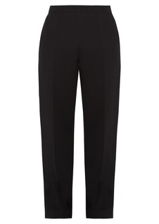 Givenchy Mid-rise straight-leg neoprene trousers