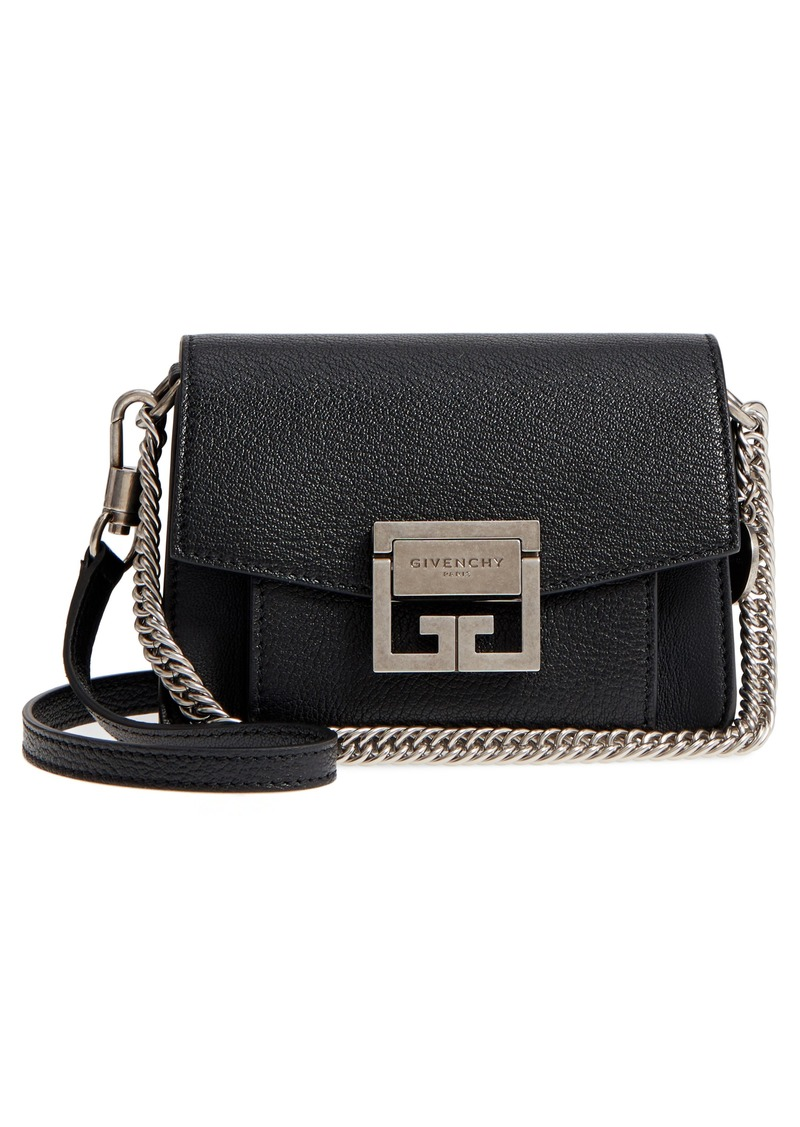 Givenchy Givenchy Mini GV3 Leather Crossbody Bag  ef49ac22df3fb
