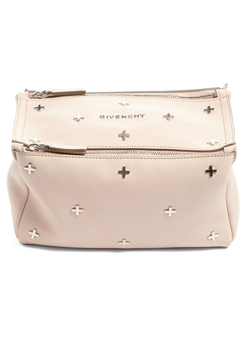 a7ecdd8fb936 Givenchy Mini Pandora Studded Leather Crossbody Bag