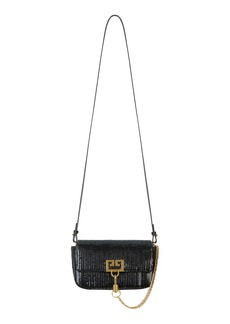 Givenchy Mini Pocket Woven Leather Crossbody Bag