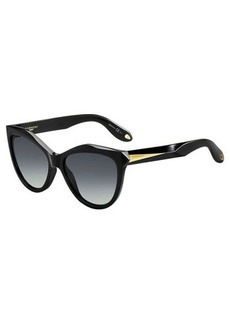 Givenchy Mitered Cat-Eye Sunglasses
