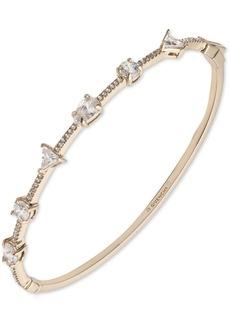 Givenchy Mixed-Crystal Bangle Bracelet