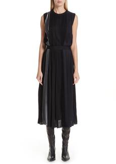 Givenchy Mixed Pleat Dress
