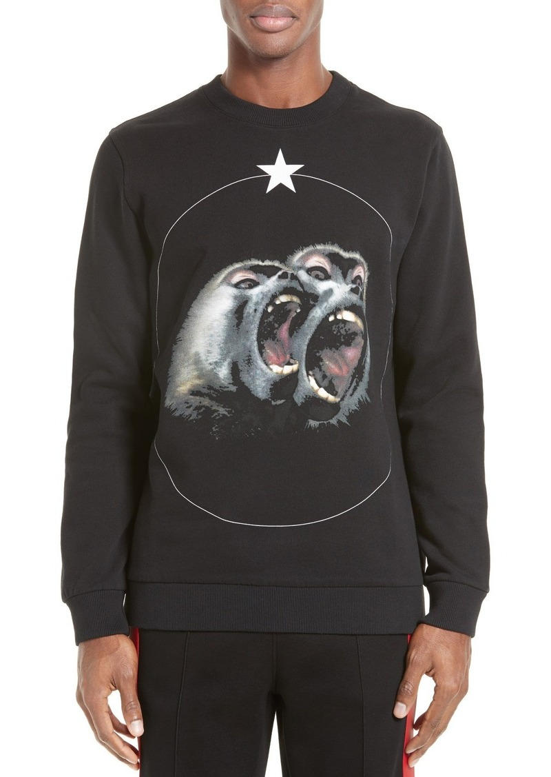 2c58163e Givenchy Givenchy Monkey Brothers Graphic Sweatshirt | Outerwear