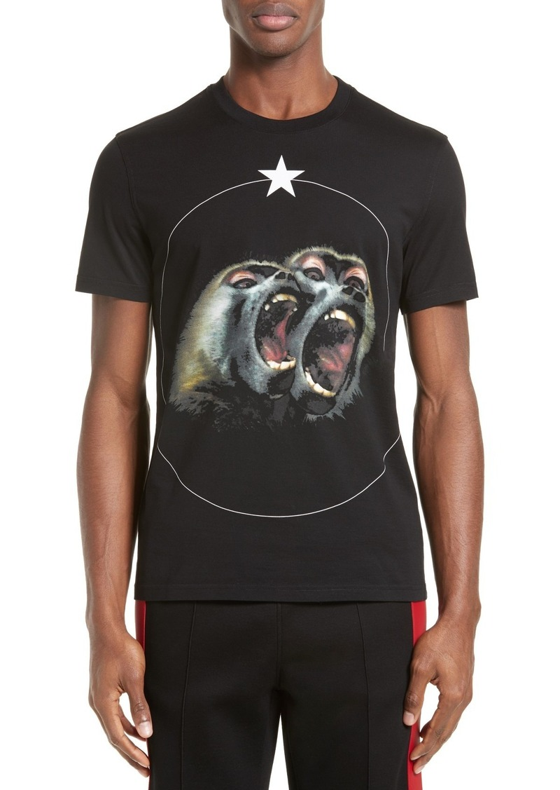 16f65c9e Givenchy Givenchy Monkey Brothers Graphic T-Shirt | T Shirts