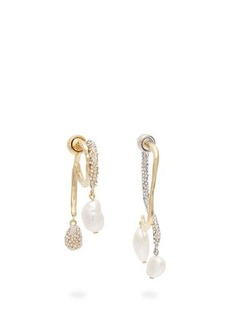 Givenchy Moonlight Pearl mismatched earrings