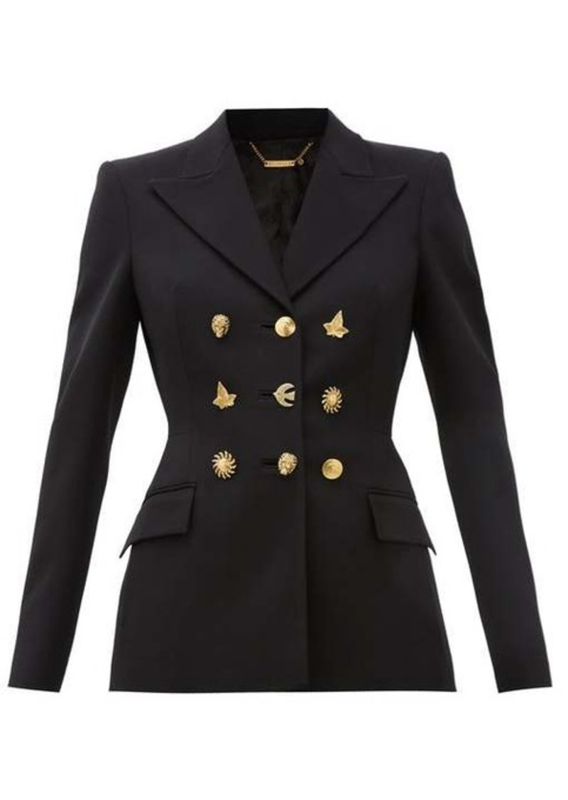 Givenchy Multi-button wool jacket