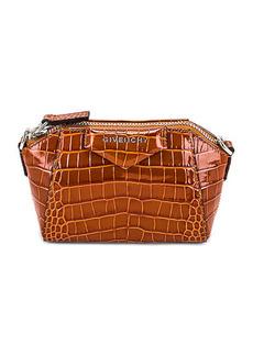 Givenchy Nano Antigona Embossed Croc Bag
