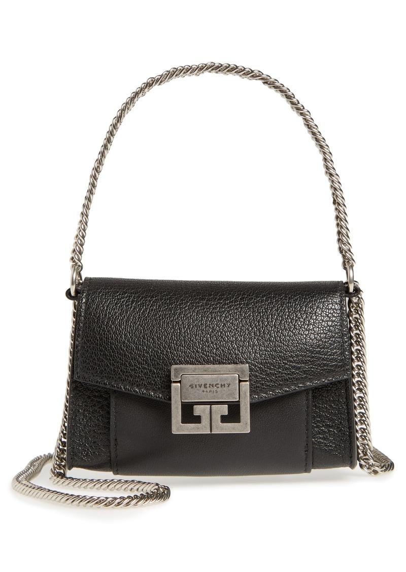Givenchy Givenchy Nano GV3 Leather Crossbody Bag  bbe93e874c31b