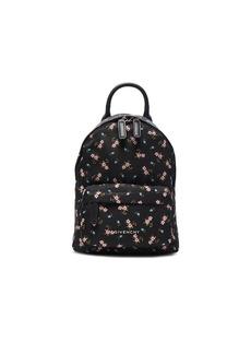 Givenchy Nano Pink Hibiscus Printed Nylon Backpack