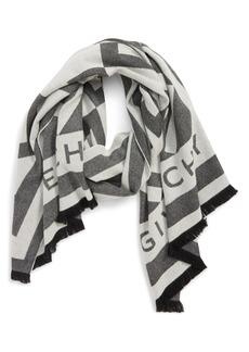 Givenchy Nouveau G Wool & Cashmere Scarf