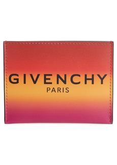 Givenchy Ombré Leather Card Holder