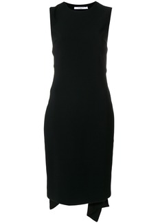 Givenchy open back tie waist dress - Black