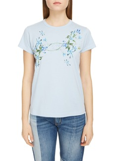 Givenchy Ophelia Flower Logo T-Shirt