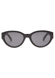 Givenchy Oval acetate sunglasses