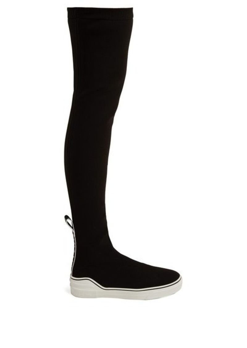 Givenchy Over-the-knee knitted sock-boot trainers