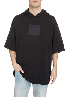 Givenchy Oversize Hooded T-Shirt with Integrated Mask
