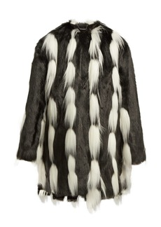 Givenchy Oversized faux-fur coat