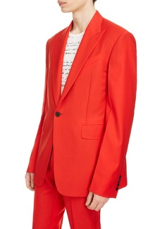 Givenchy Oversized Lapel Wool Jacket