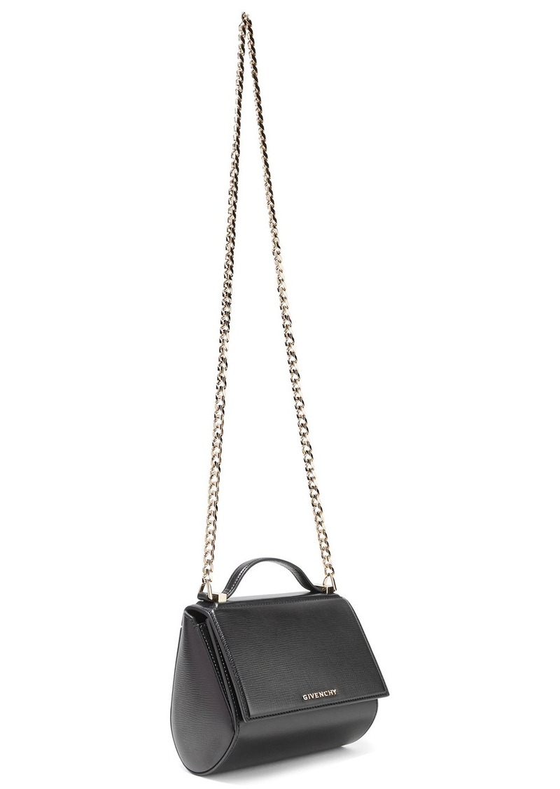 836efd77f3 Givenchy Pandora Box shoulder bag in black leather