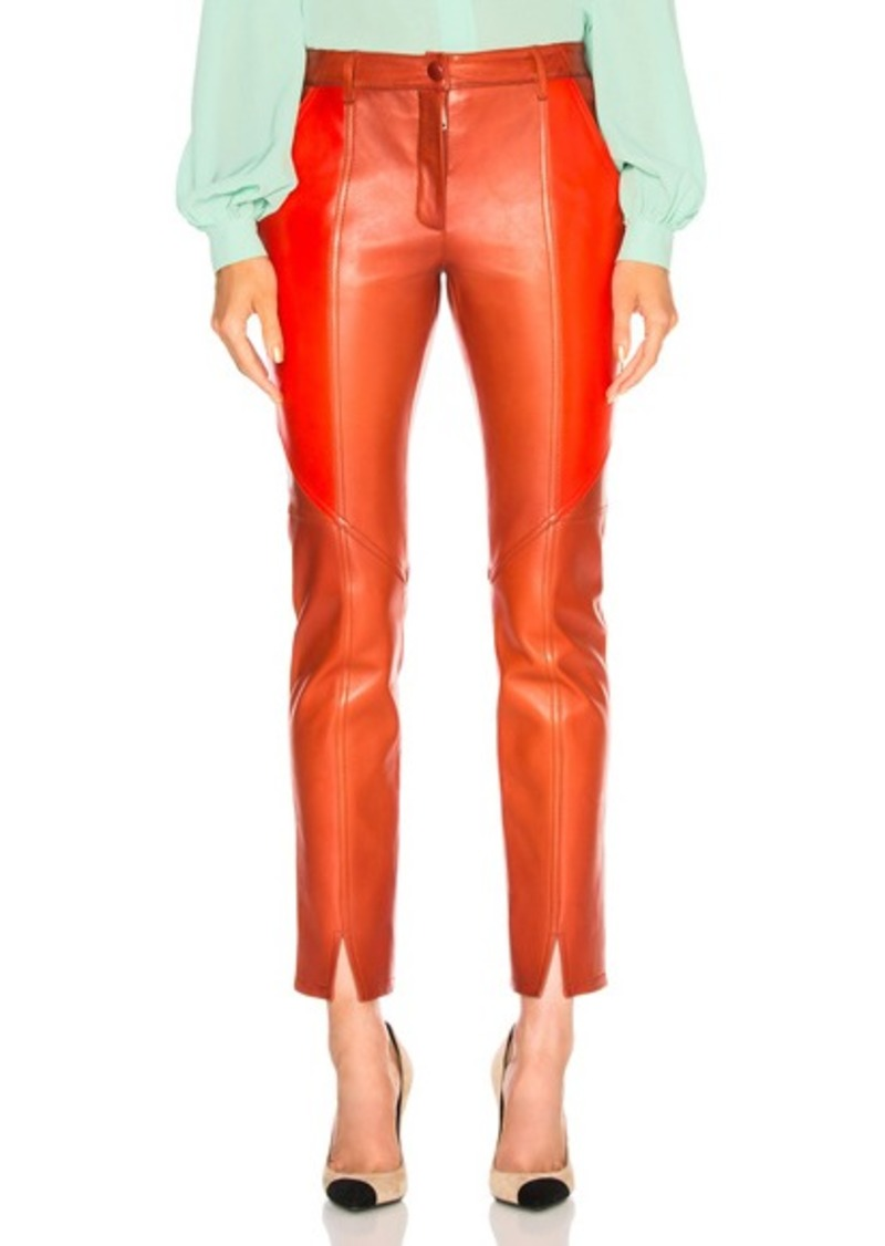 b349d6b742f9d Givenchy Givenchy Paneled Leather Leggings | Casual Pants