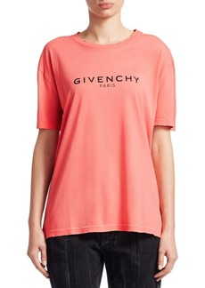 Givenchy Paris Destroyed Tee