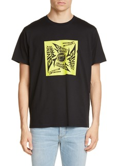 Givenchy Paris Square Sun Graphic T-Shirt