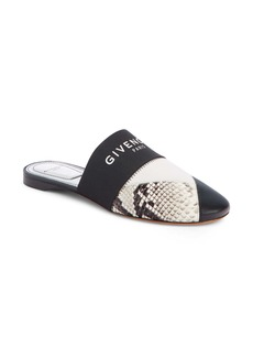 Givenchy Patchwork Logo Mule (Women)