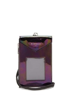 Givenchy Patent-leather lanyard pouch