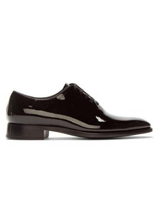 Givenchy Patent-leather oxford shoes