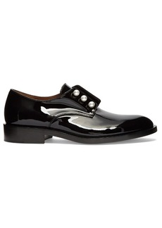 Givenchy Patent-leather slip-on loafers