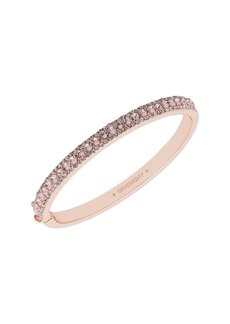 Givenchy Pavé Swarovski Crystal Bangle Bracelet