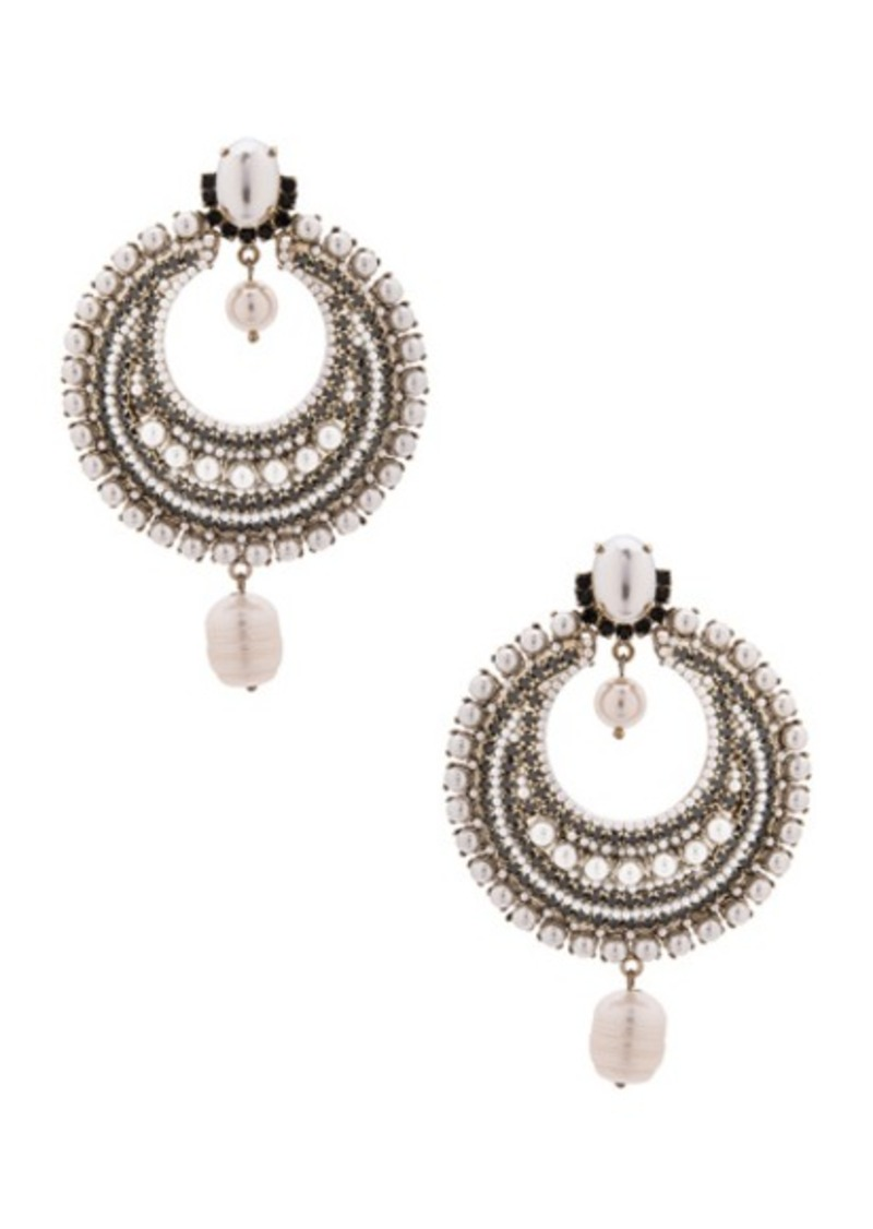 Givenchy Pearl Statement Earrings