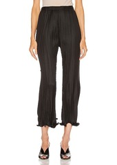Givenchy Pleated Wave Details Pant