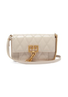 Givenchy Pocket mini quilted-leather cross-body bag