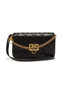 Givenchy Pocket quilted-leather cross-body bag