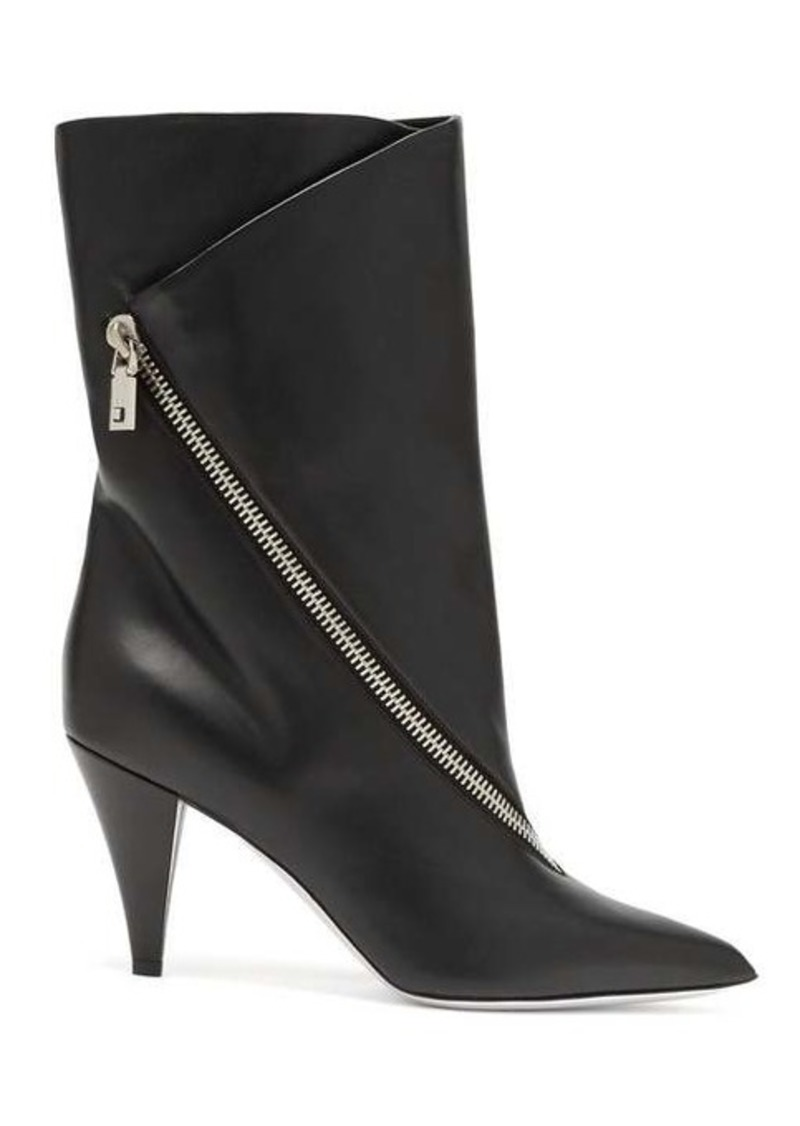 Givenchy Point-toe leather ankle boots