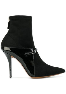 Givenchy pointed fitted ankle boots - Black