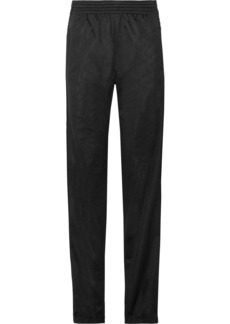 Givenchy Printed satin-jersey track pants