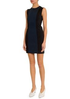 Givenchy Punto Milano Colorblocked Sleeveless Dress