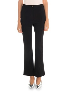 Givenchy Punto Milano Cropped Flared Trousers