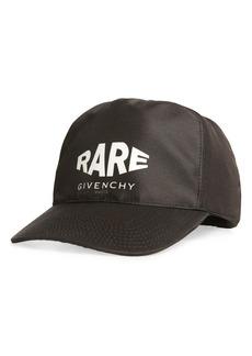 Givenchy Rare Logo Baseball Cap