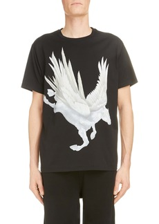 Givenchy Rare Pegasus Graphic T-Shirt